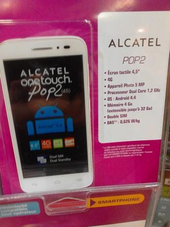 AlcatelPop2Leclerc