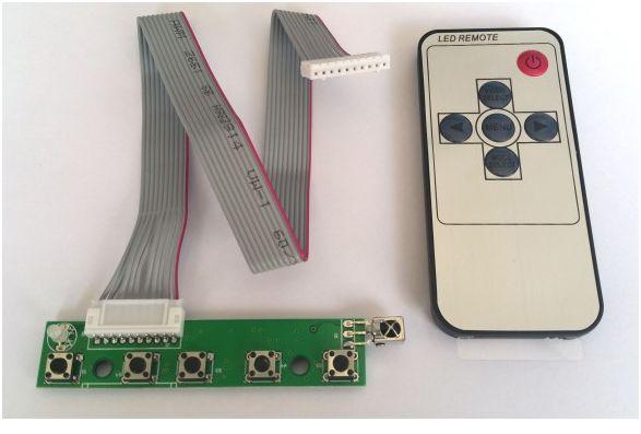 KitControleLCD7p et télécommande