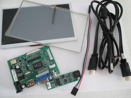 Kit LCD tactile 7p