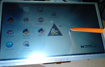 LCD tactileRaspbian01