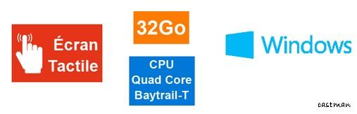 20818d0b0a8 Tablette PC Windows 8.1 DUST le