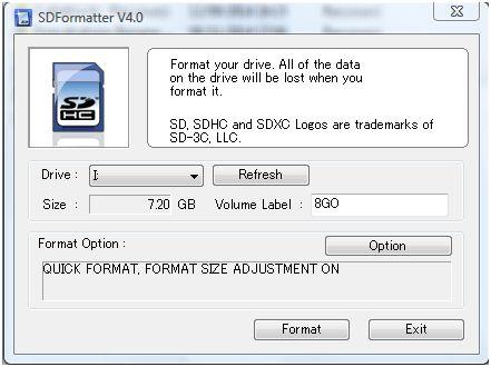 SDFormatter-RBPi2B02