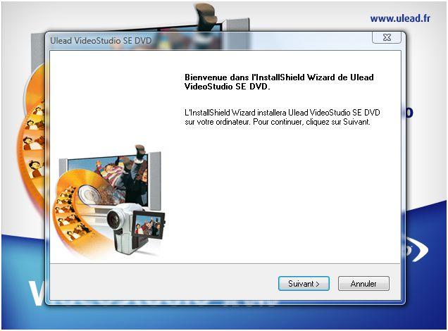 Installation UleadVideoStudioSE02