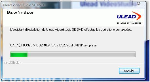 Installation UleadVideoStudioSE05