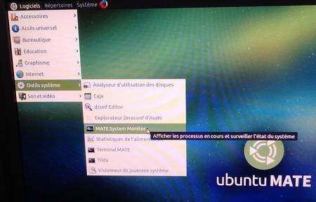 UnbuntuMateMoniteurSystème0