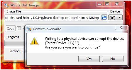 Win32DiskImager0.9.5InstallLinaro02