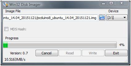 Win32DiskImagerInstallPcDuino8Ubuntu03
