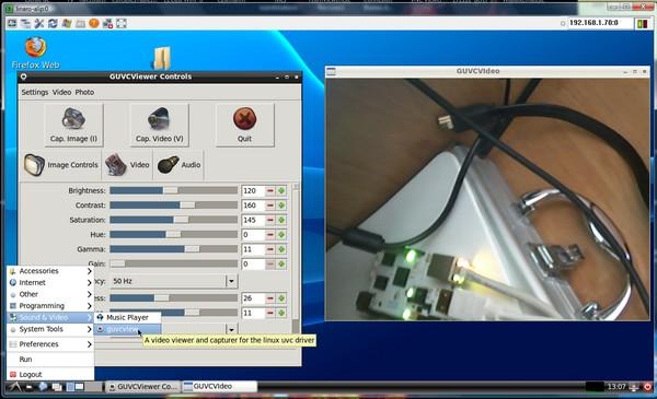 linaro-alip-Webcamok