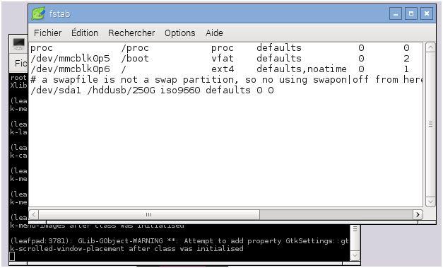 ConfigurationUSBetHDD-fstab02