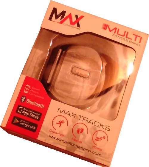 Bracelet connecté MAX TRACKS 02
