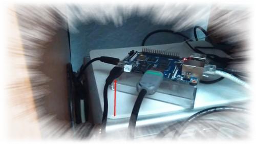 Câble microUSB USB sur M3 via le port OTG