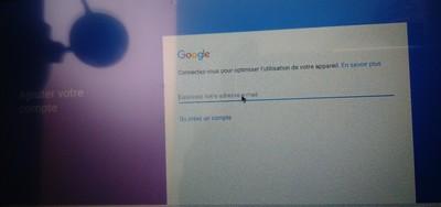 Google Play se connecter via son compte sur M3