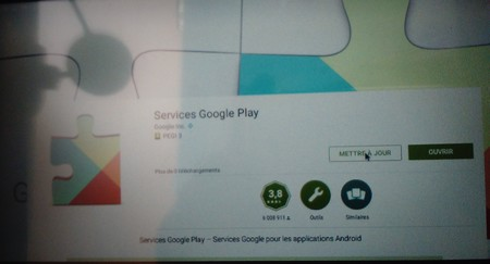 M3 Google Play MAJ des ServicesGooglePlay