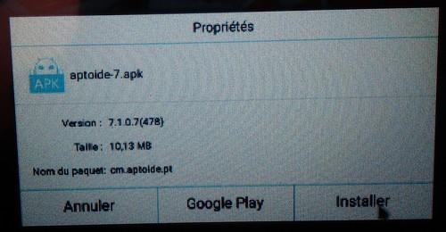 M3 installer Aptoide
