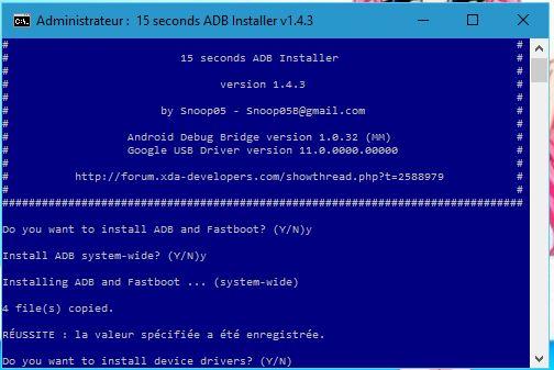 M3 télécharger ADB 009