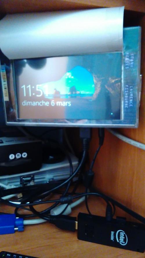 Wintel W5 sur écran 7 p HDMI