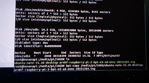 M3 partie5-Ubuntu Mate15.10 install NAND002