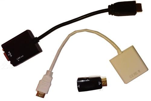 Mes convertisseurs HDMI VGA