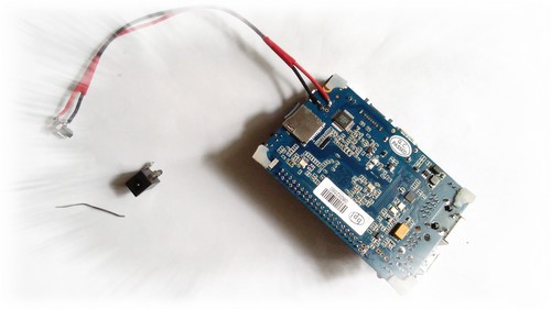 Banana Pi M3 Jack DC-IN01